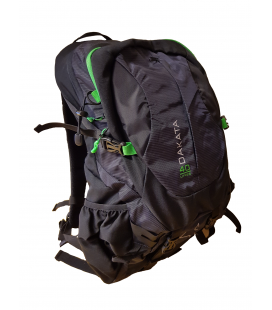 Sekker 0-50L Lmnts Dakata 40 Liter Black/Green 5001158
