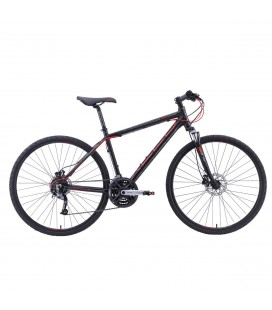 "Xeed ECO 3 Sport 28"" Sort Rød"