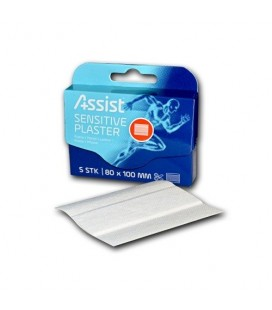 Sportsutstyr Assist Skrubbsårplaster 5 stk. 8x10cm 06131051