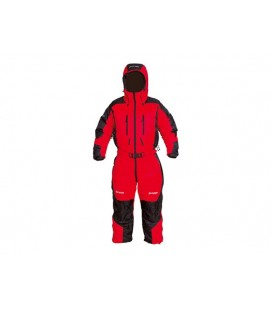 Vattert og Dunjakker Herrer Bergans Expedition Down Suit Red/Black 5320