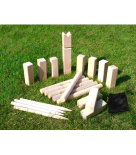 Spill & lek Greensport Wooden Kubb Game Set LM10013