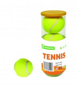 Spill & lek Greensport Tennisballer 3 Stk LM10005