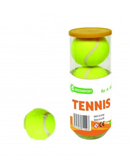 Spill & lek Greensport Tennisballer 3 Stk LM10005 40 kr