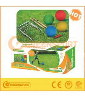 Greensport Football Croquet Game Set
