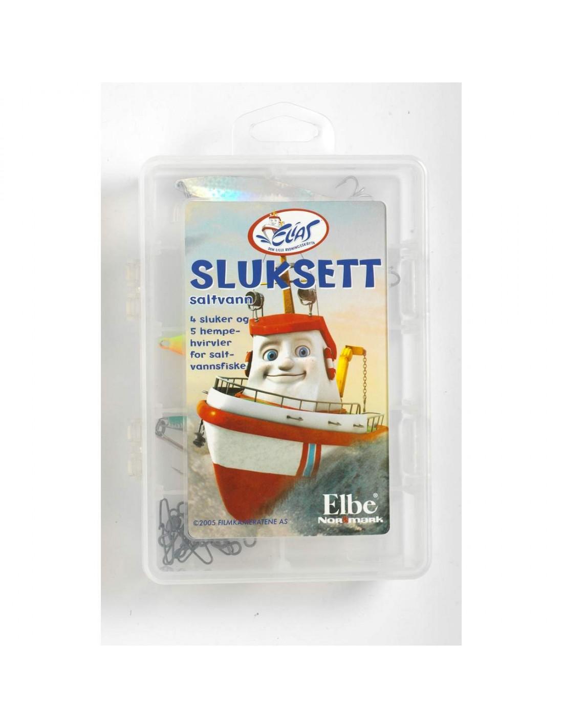 Sett/Pakker Elias Sluksett Saltvann 9 deler 189205 199 kr