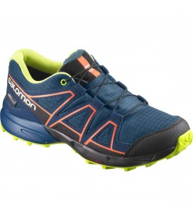 Salomon Speedcross CSWP Junior Moroccan Blue