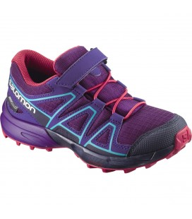 Salomon Speedcross CSWP Kids Grape Juice