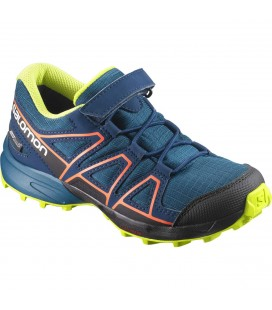 Salomon Speedcross CSWP Kids Moroccan Blue