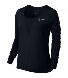 Nike Zonal Cooling Relay Langermet Løpetopp Black