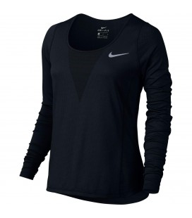 Genser Damer Nike Zonal Cooling Relay Langermet Løpetopp Black 831514