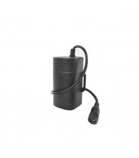 Darkfire batteri 4x2600 8,4V, Vanntett