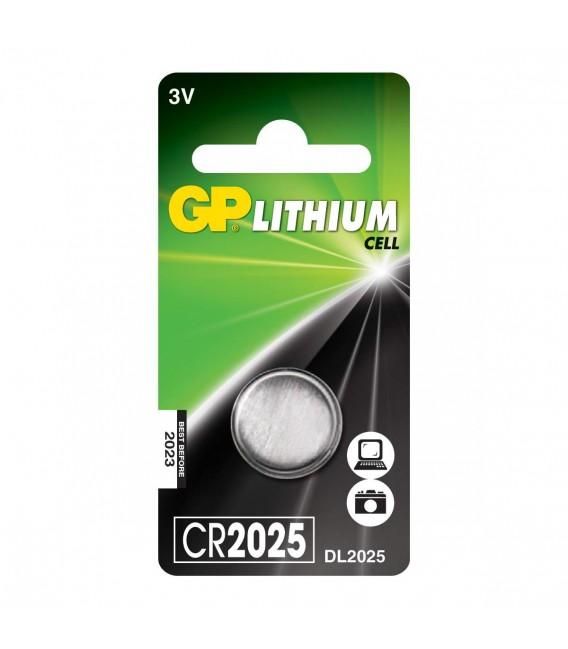 Tilbehør GP Batteri CR2025 Litium 3V gpcr2025 39 kr