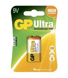 Tilbehør GP Batteri 6LF22 Ultra Alkalisk 9 v gp6lf22