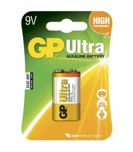 GP Batteri 6LF22 Ultra Alkalisk 9 v