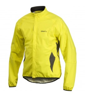 Regnjakker Herrer Craft Active Bike Rain Jacket Men Yellow 1901