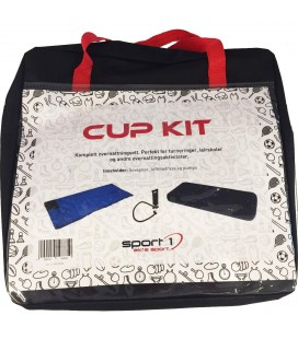 Sport 1 Cup Kit - Teppepose Luftmadrass Pumpe
