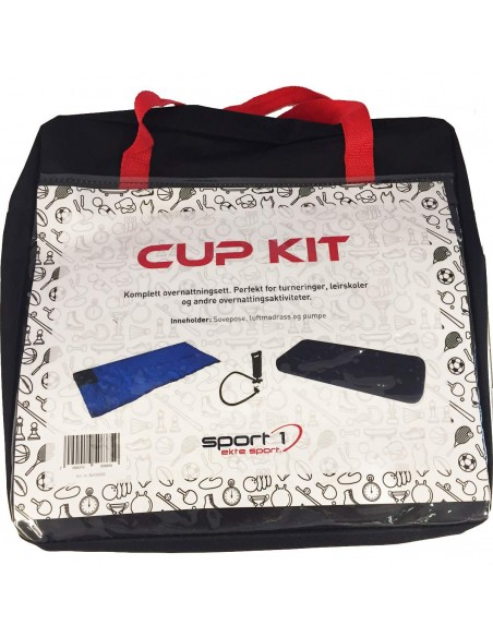 Sport 1 Cup Kit - Teppepose | Luftmadrass | Pumpe