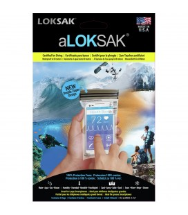 Pakksekker aLOKsak Vanntett Smarttelefon Pose 9,53x17,78cm 2stk 800000120
