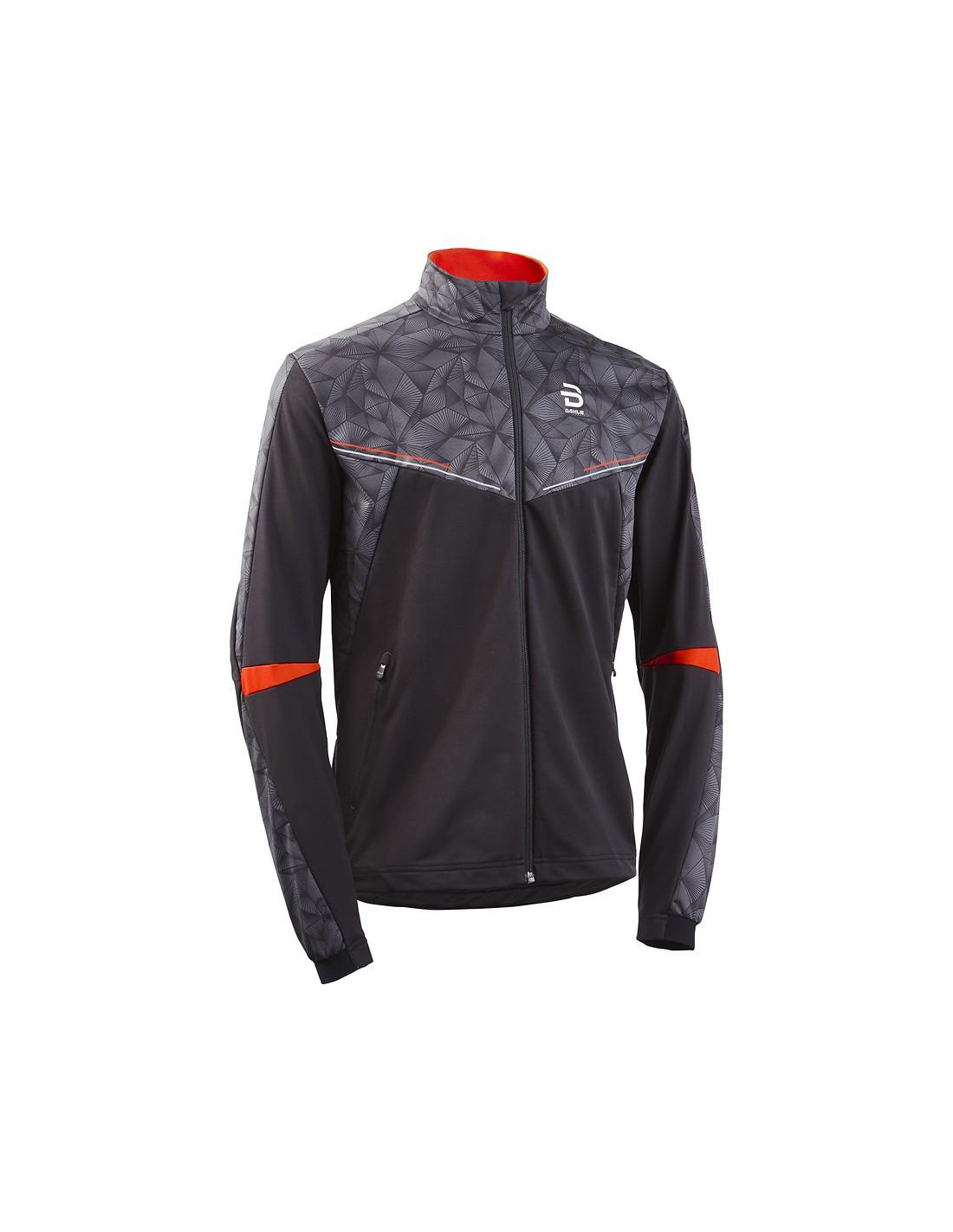 Treningsjakker Herrer Bjørn Dæhlie Intent Jacket Black/Orange SportsDeal! 332061-99900 699 kr
