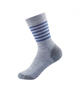 Devold Multi Mdium Kid Sock Night Stripe