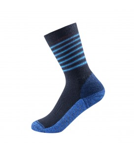 Devold Multi Medium Kid Sock No-Slip Mistral Stripe
