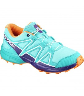 Salomon Speedcross Junior Blue Curacao