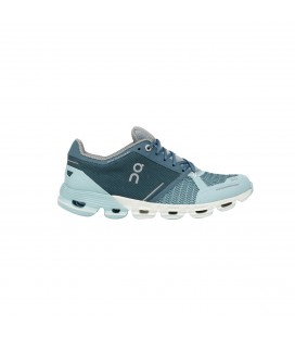 ON Cloudflyer Woman Aqua/White