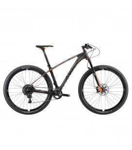 "Xeed CRB 3 29"" Terrengsykkel Sort Matt Race Orange"