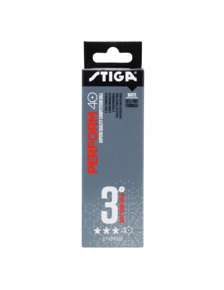 Stiga Perform 3-star ABS 3-pack White