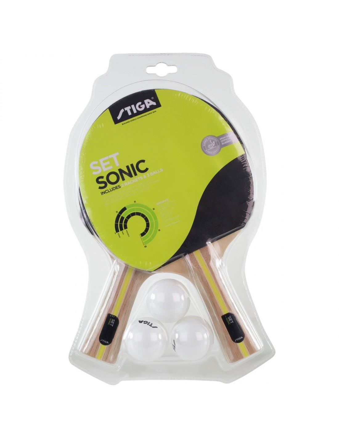 Stiga Set Sonic