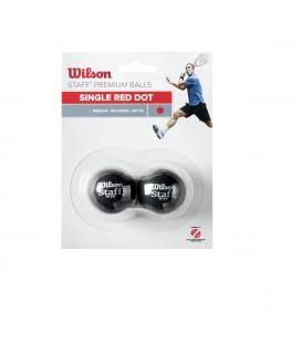Tennis & Squash Wilson Staff Squash 2 Ball wrt617700
