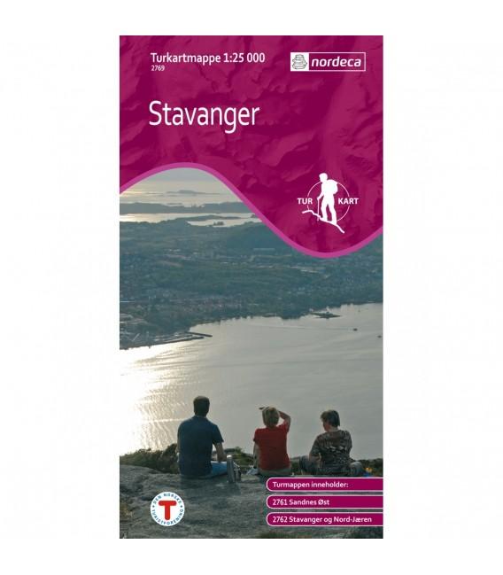 Kart Nordeca Turkartmapper Stavanger 2769 79 kr