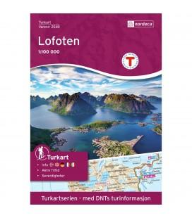 Kart Nordeca Lofoten 1:100 000 n2549