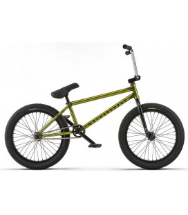 "Wethepeople Trust 21"" 2018 Freestyle BMX Sykkel Translucent Lime Green"