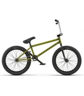 """Wethepeople Trust Freecoaster 20,75"""" 2018 Freestyle BMX Sykkel Translucent Lime Green"""