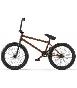 "Wethepeople Zodiac Freecoaster 20,75"" 2018 Freestyle BMX Sykkel Translucent Brown - Left hand drive"