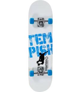 """Tempish Street Boss Skateboard 8"""" Hvit/Blå"""
