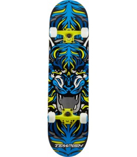 """Tempish Tiger Skateboard 8"""" Gul"""