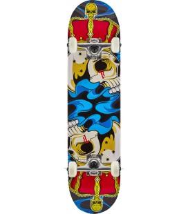 """Madd MGP Gangsta Skateboard 7.75"""" Crowned"""