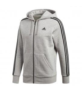Genser Herrer Adidas Ess 3 Stripes Full Zip Herre CF5056