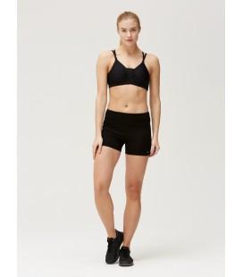 Treningstights Damer Röhnisch Lasting Hot Pants Black 2691880001