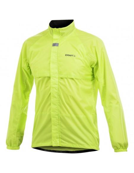 Craft Active Bike Rain Jacket Men Yellow