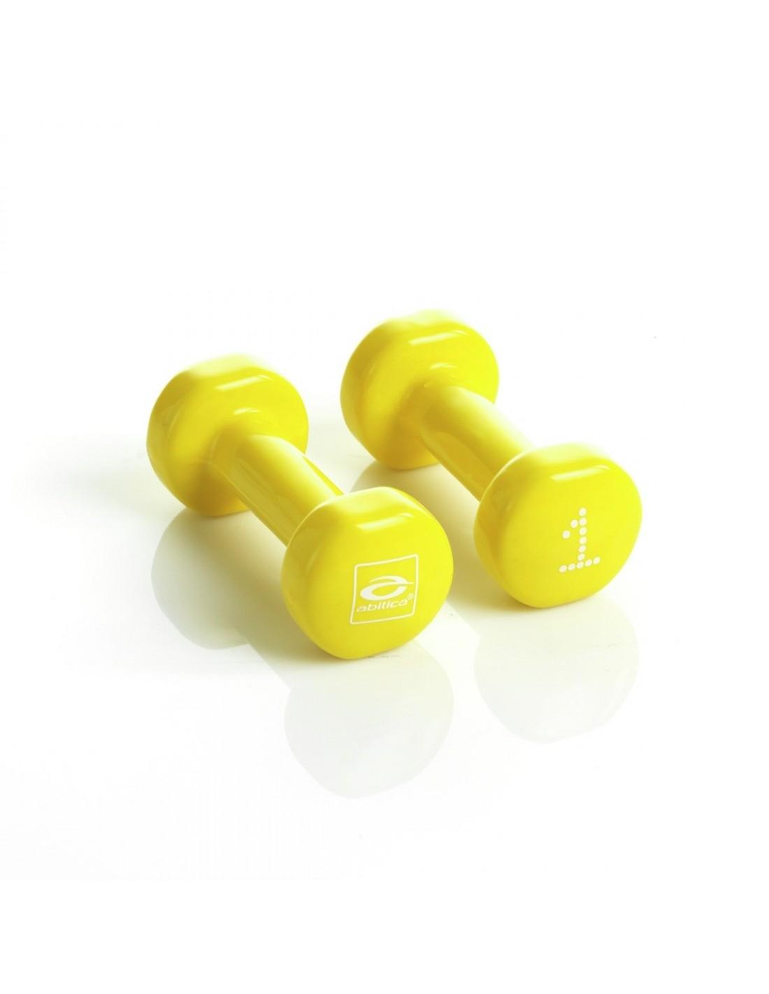 Abilica DumbBells 1kg 1 Yellow