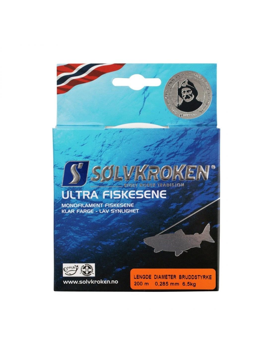Sener Sølvkroken Ultra Sene Clear 507708 169 kr