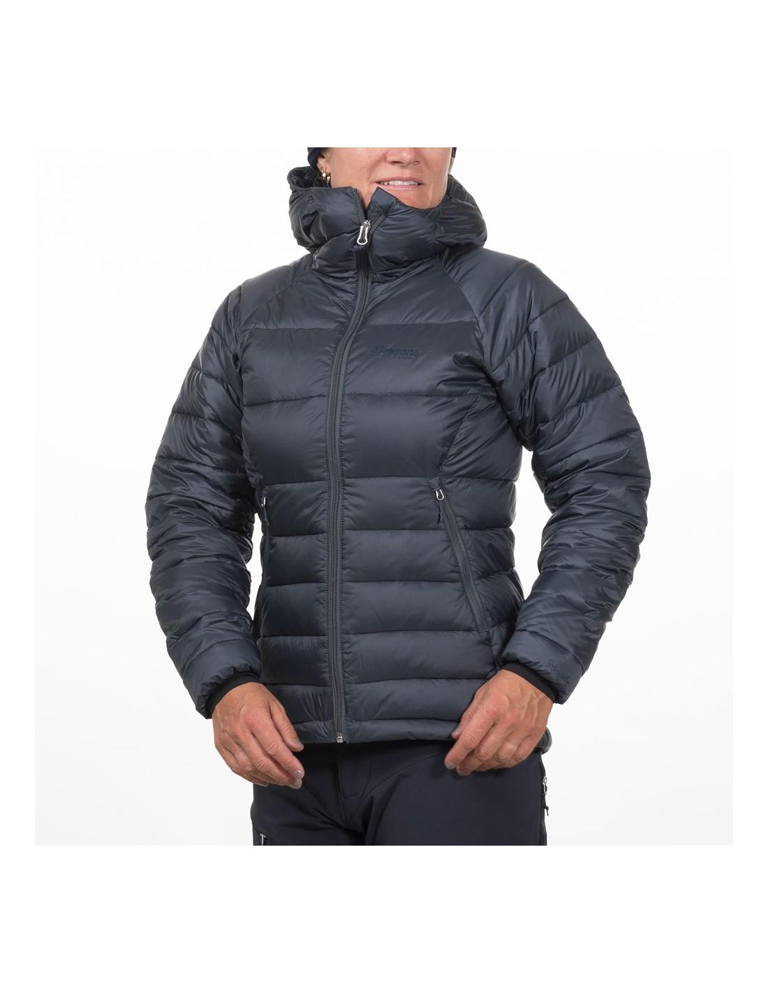 827ab8ec Ski og Snowboardjakker Damer Bergans Slingsby Down Light Dame Jacket w/Hood  8723 ...