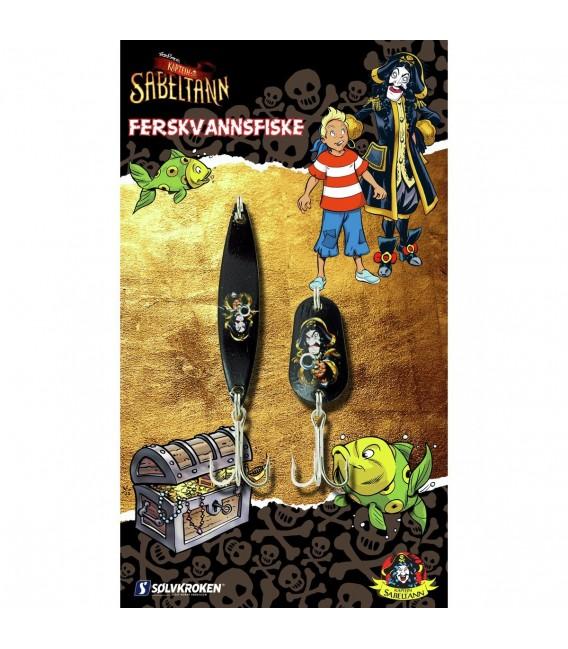 Sett/Pakker Sølvkroken Kaptein Sabeltann Sluksett Ferskvann 112064 79 kr