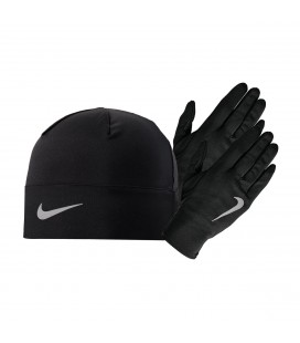 Nike Men's Run Dry Hat And Glove Set