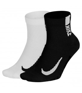 Tekniske Sokker Nike Multiplier Running Ankle Socks SX7556