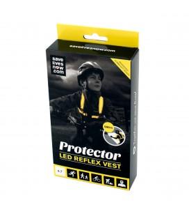 Reflekser Save Lives Now Protector LED Vest Junior SLN VEST JR