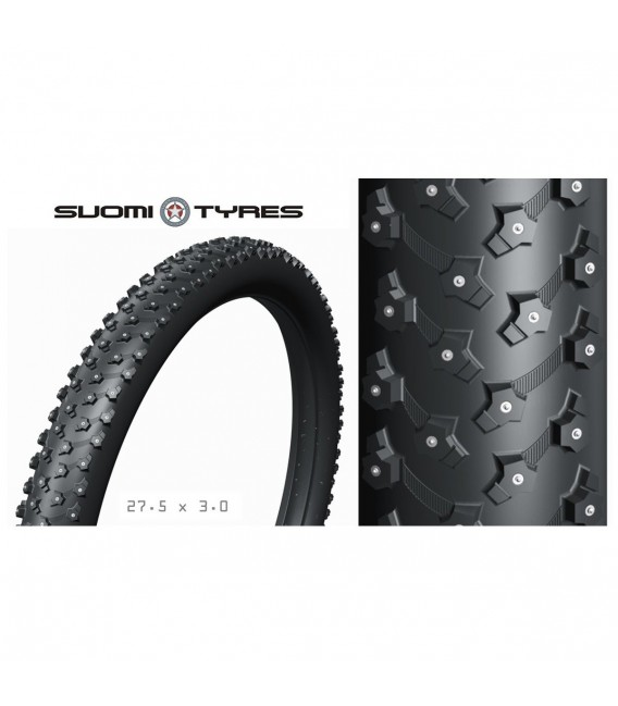 Dekk & Slange Soumi Tires Piggdekk 27Plus 348 pigger 27,5x3,0 NO218881 1,349.00